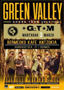 Green Valley + Gatom @ Bermeoko Kafe Antzokia
