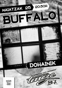 Buffalo @ Bermeoko Kafe Antzokia Terraza