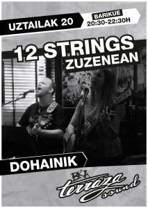12 String @ Kafe Antzokiko Terraza