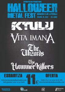 [:eu]Halloween Metal Fest[:es]Halloween Metal Fest 2019[:] @ Bermeoko Kafe Antzokia