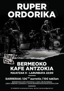 [:eu]Ruper Ordorika[:es]Ruper Ordorika [:] @ Bermeoko Kafe Antzokia