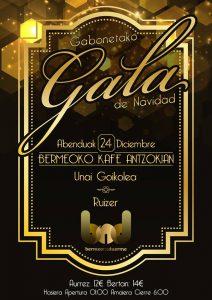 Gabonetako Gala @ Bermeoko Kafe Antzokia