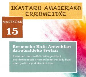 Alkartasuna Dantza Taldea @ Bermeoko Kafe Antzokia