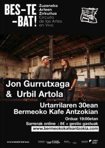 [:eu]Jon Gurrutxaga - Urbil Artola[:es]Jon Gurrutxaga -Urbil Artola[:] @ Bermeoko Kafe Antzokia
